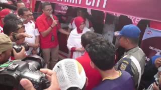 HUT Pemko Banda Aceh ke 0811 - FunBike + Signing MoU Smart City  #Telkomsel #T4GAceh