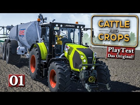 Cattle And Crops 🚜 Es geht los! Early Access PlayTest #1 | deutsch german Lets Play