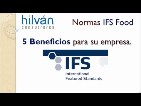 Consultor Auditoría IFS Food Logistics Broker IFSGlobal Markets Packaging Store CashCarry HPCSecure
