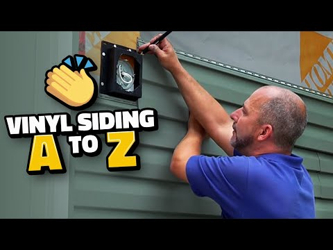 How to Install Vinyl Siding from A to Z