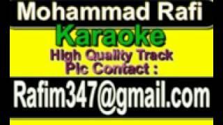 Tujhe Kya Sunaon Mein Karaoke Aakhri Dao {1958} Rafi