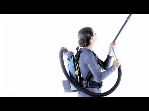 The Super Coach Pro Backpack Vacuum By Team