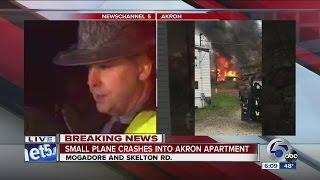 Official: No survivors in Akron plane crash