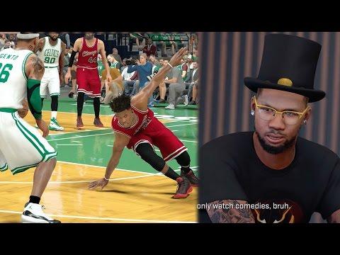 NBA 2k17 MyCAREER - Film Premiere Talk! Trash Talking Ex Teammate Ankle Breaker and Injury! Ep. 75