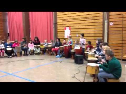 Bert-Brecht-Schule: Projektwoche Afrika. 06.02.2015