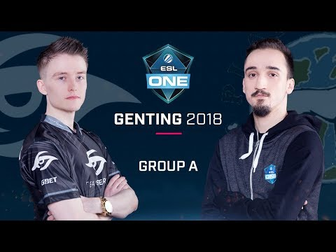 Dota 2 - Team Secret vs Planet Dog - Group A Opening Game - ESL One Genting 2018