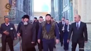 Рамзан Кадиров узбекистонни зиёрат килди