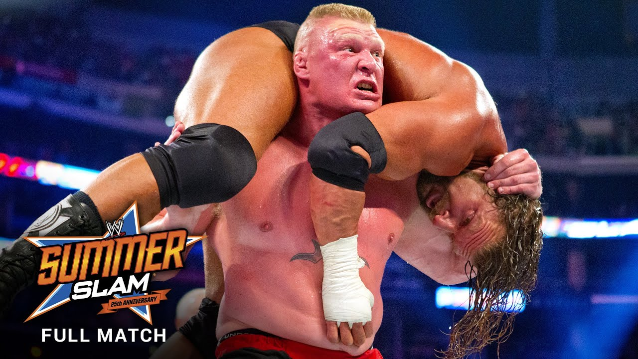 Download FULL MATCH - Triple H vs. Brock Lesnar - No Disqualification Match: SummerSlam 2012
