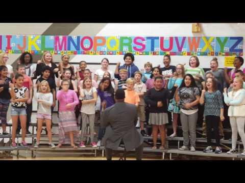 Carden Park Honor Choir Fall Concert #1 Music Director Robert Warren, Jr