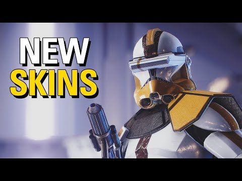 NEW Clone Skins Cinematic Showcase | 327th Star Corps & 41st Elite Corps