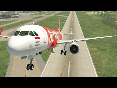 Air Asia (Indonesia), Airbus 320 - Jakarta To Bali