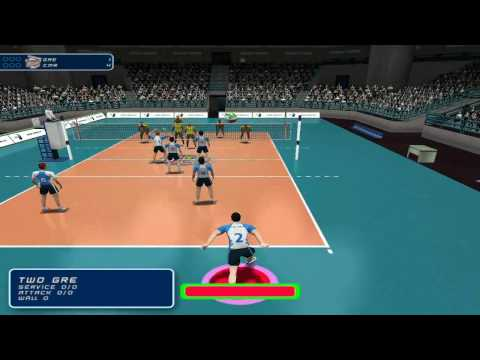 International Volleyball 2009 Pc Gameplay Youtube