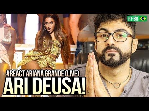 REAGINDO a Ariana Grande - God Is a Woman  2018 MTV   Awards
