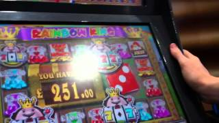 REEL KING ULTRA SPINS 5 SCROLLS £500 JACKPOT FRUIT MACHINE BOOKIES