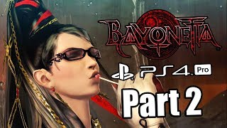 BAYONETTA REMASTER Gameplay Walkthrough Part 2 - All Collectibles | No Commentary (PS4 PRO)