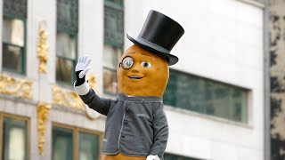 "Mr. Peanut Super Bowl Commercial, Plus How to Become a ""Peanutter"""