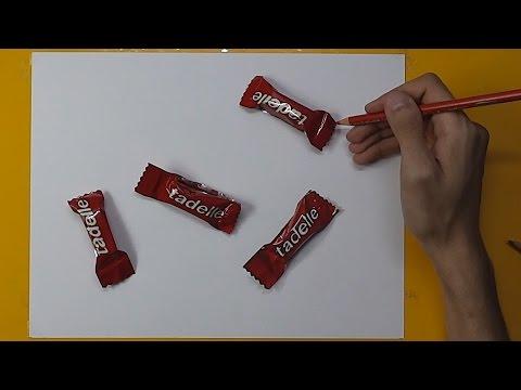 Hangisi Çizim? | Gerçekçi 3 Boyutlu...