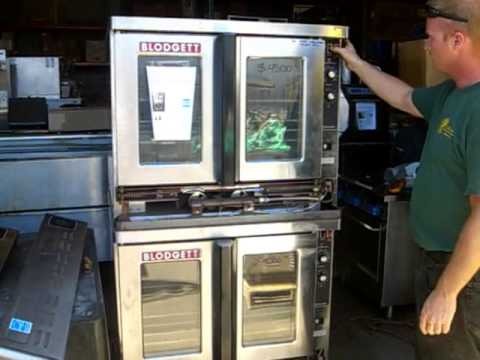 Convection oven, Blodgett Ovens vid on