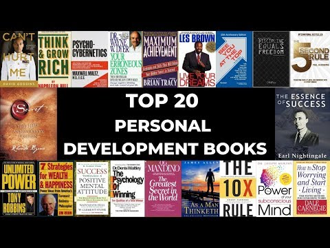 🔑🔑🔑 Top 20 Personal Development Books 🔑🔑🔑