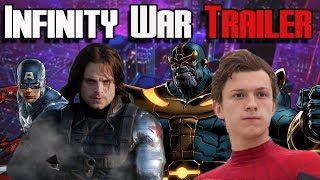 Avengers: Infinity War Trailer Top 5 Things We Noticed | Avengers: Infinity War Trailer Reaction