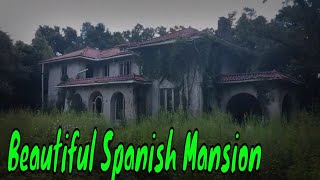Abandoned Millionaires Spanish Mansion In America