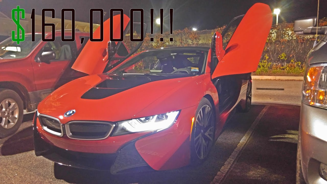 Bmw I8 Fun Run 16 Year Old Drives A Bmw I8 Youtube