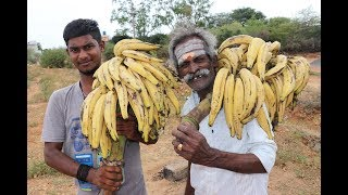 Kerala Style BANANA FRITTERS Prepared by my Daddy ARUMUGAM: Village food factory