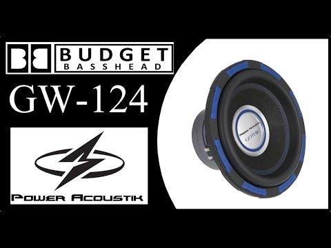 Budget Build Sub - Power Acoustik Gothic GW12 - Review 1 - YouTube