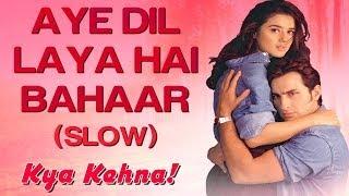 Dil Ka Koi Tukda - Aye Dil Laaya Hai Bahaar Full Video (Sad) - Kya Kehna | Preity Zinta | Kavita K.