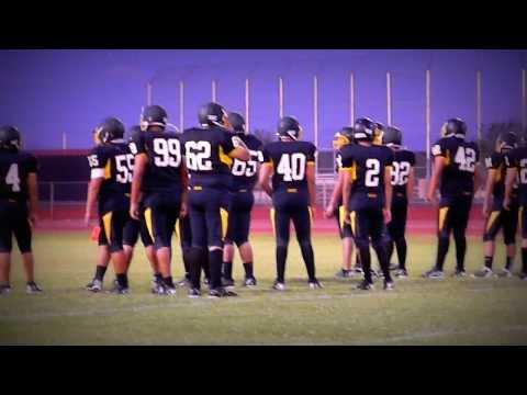 Salt River High School  Football Warm Ups