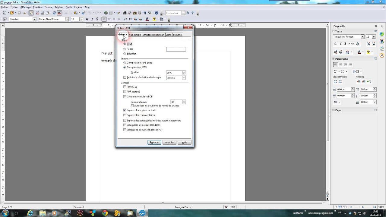 convertir cv avec photo en pdf