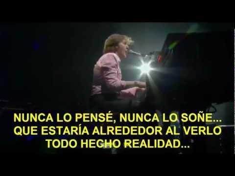 Paul McCartney- 1985 (Zocalo,Mex) Subtitulada Español