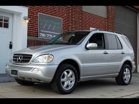 2002 mercedes benz ml500 4matic walkaround presentation at louis frank motorcars llc youtube. Black Bedroom Furniture Sets. Home Design Ideas