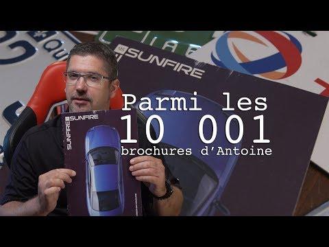 La Pontiac Sunfire 1995 - Les 10 001 Brochures D'Antoine - E64