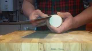 Техника #ЦайДао. Катсурамуки из дайкона китайским ножом