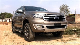 Ford Endeavour/Everest 3.2 Titanium+ 4WD 2019 | Real-life review