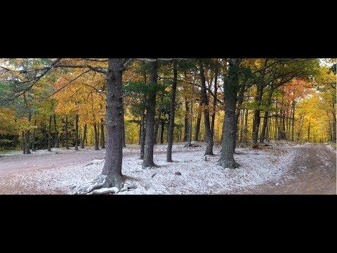 RV Fall Colors ~ Agate Beach Campground ~ Misery Bay & a Lake ~ Michigan's U.P.