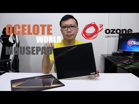 รีวิว: Ozone Ocelote World Mousepad