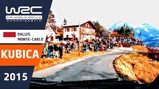 WRC Rallye Monte-Carlo 2015: Onboard SS 11 Robert Kubica