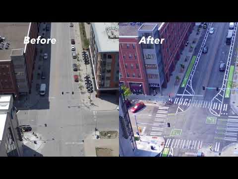 East Grand Avenue 2017 Pilot Project