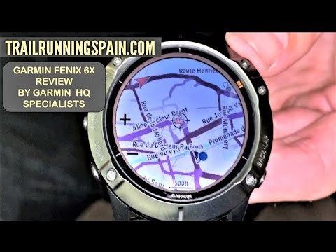 GARMIN FÉNIX 6X REVIEW. By Jon Hosler from Garmin HQ at official Chamonix launch event. (AUG29)