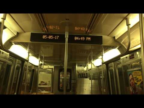 NYC Subway: R68 set #2894 - 2892 w/ SESPA Electronic Sign & Door Chime