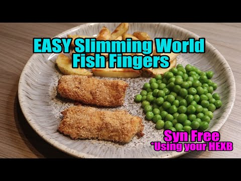 EASY Slimming World Fish Fingers SYN FREE (Hex B)