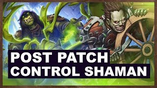 Post Patch Control Shaman Ladder | Rise Of Shadows | Hearthstone