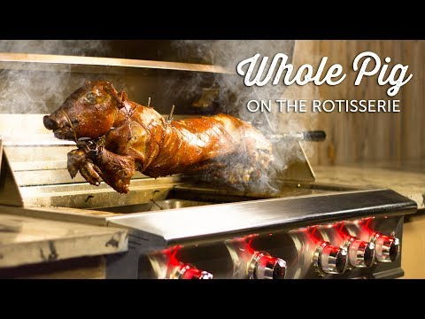 Whole Roast Pig Recipe | Blaze Professional Gas Grill Rotisserie | BBQGuys.com