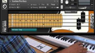 Native Instruments - Scarbee Pre Bass - Tutorial
