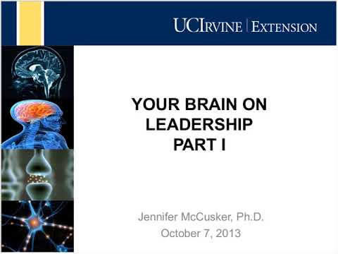 Your Brain on Leadership - Part 1 (10/7/2013)