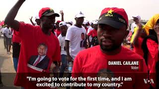 Angola Prepares for Historic Election Without Longtime Leader in the Running