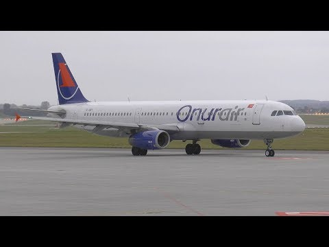 Onur Air Airbus A321-200 TC-OBY - Katowice Pyrzowice (KTW/EPKT) - 27.07.2017 r.