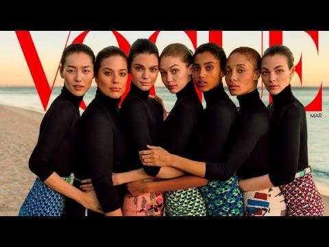 Vogue's 'diverse' cover receives backlash